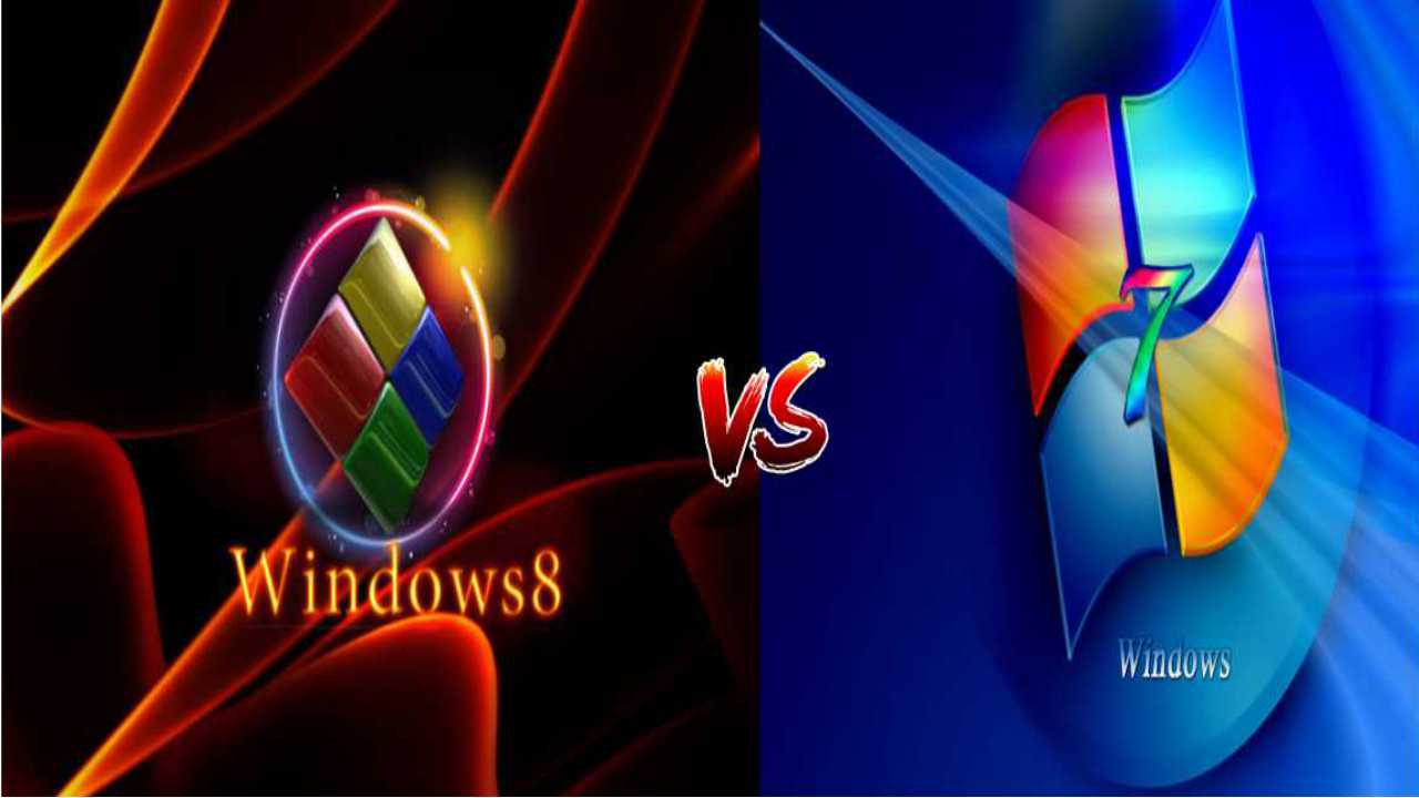 Difference Between Windows 8 and Windows 7